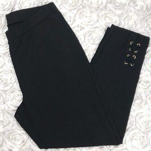 Michael by Michael Kors Black Plus Size Leggings